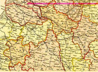 Lyubavichi, Rudnyansky District, Smolensk Oblast - Image: Belarus 1882