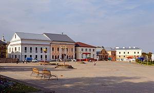 Navahrudak - Historic Market Square