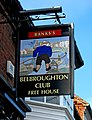 Belbroughton Club sign, 5 High Street - geograph.org.uk - 1803364.jpg