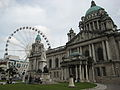 Belfast City Hall and wheel.jpg