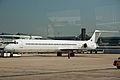 Belle Air McDonnell Douglas MD-82 ZA-ARD Fiumicino Airport.jpg
