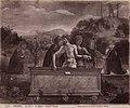 Bellini - Cristo in pietà tra la Madonna e san Giovanni Evangelista, san Marco e san Nicola di Bari, Palazzo Ducale.jpg