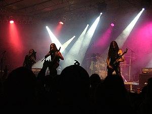 Belphegor (band) - Belphegor performing live at Rock the Lake festival in Finkenstein am Faaker See, Austria in September 2007.