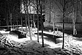 Benches levitating above the snow (16452383638).jpg