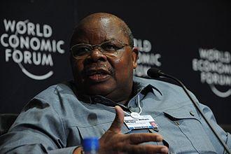 Benjamin Mkapa - Image: Benjamin William Mkapa World Economic Forum on Africa 2010 3