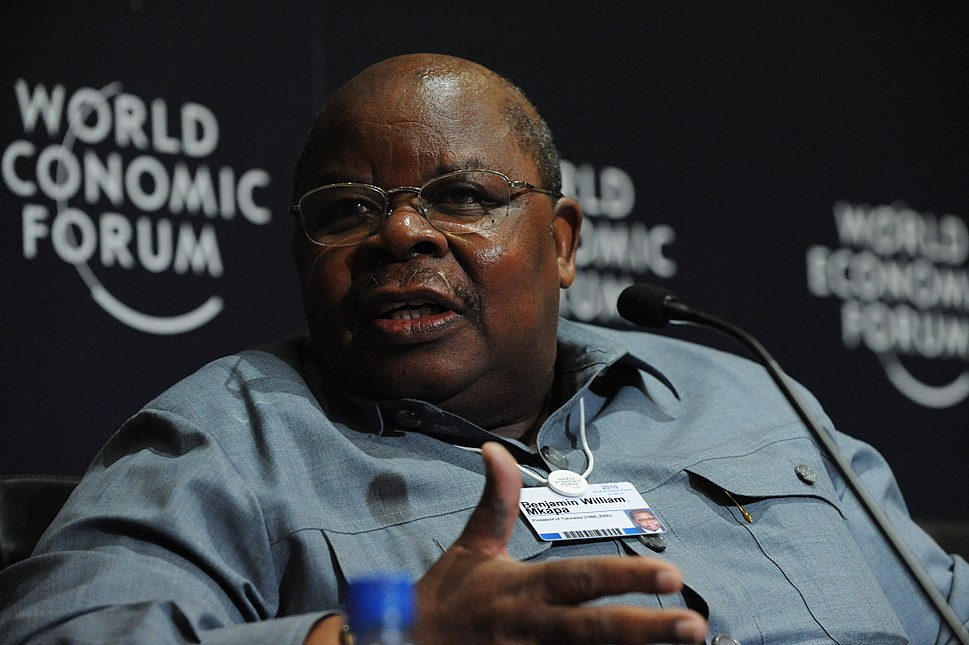 Benjamin William Mkapa - World Economic Forum on Africa 2010 - 3
