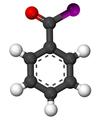 Benzoyl iodide3D.png