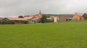 Oberdachstetten - Image: Berglein, dorpszicht foto 3 2016 08 05 11.00