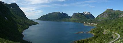 Bergsfjorden on Senja