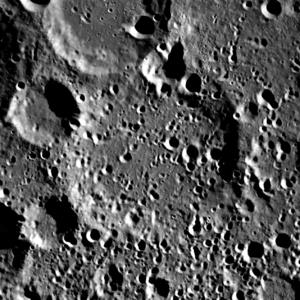 Berlage (crater) - Image: Berlage (LRO)