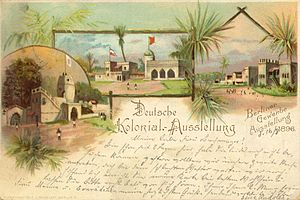 Great Industrial Exposition of Berlin - the colonial exhibition