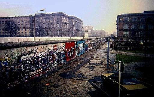 Berlin Wall, Niederkirchnerstraße, Berlin 1988