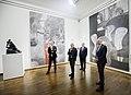 Besuch der deutschsprachigen Finanzminister im Leopold Museum (50264241701).jpg