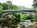 Betws Y Coed iron bridge - geograph.org.uk - 289742.jpg