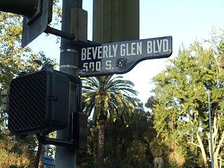 Beverly Glen Boulevard