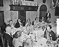 Bezoek Luxemburgs groot-hertogelijk paar. Derde dag. Haarlem (Diner), Bestanddeelnr 907-8122.jpg