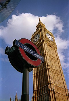 Big Ben vs Westminster London Underground Station.jpg