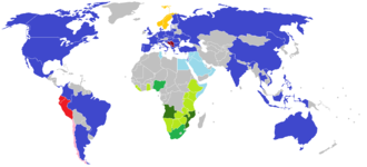 Big Brother (franchise) - Image: Big brother countries