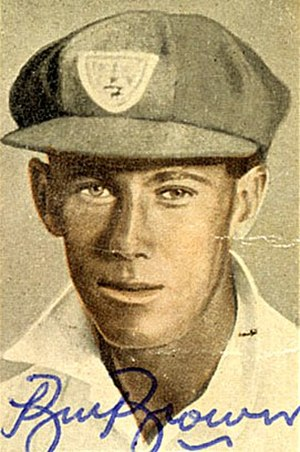 Bill Brown (cricketer) - Brown during his days with New South Wales