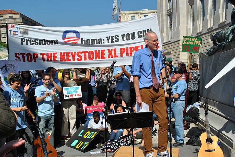 File:Bill McKibben at Stop the Keystone XL pipeline rally.jpg