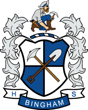 Bingham High School - Image: Bingham High School Crest HD