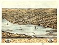 Bird's eye view of the city of Lyons, Clinton Co., Iowa 1868. LOC 73693399.jpg