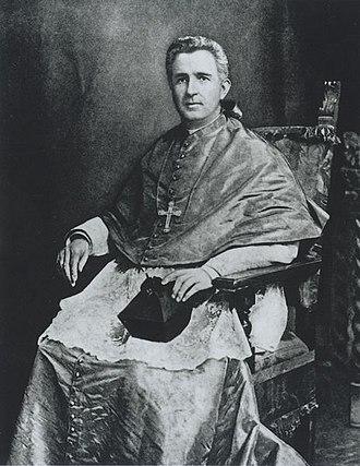 Maurice Francis Burke - Image: Bishop Maurice Francis Burke