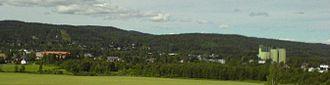 Aurskog-Høland - Image: Bjørkelangen panorama