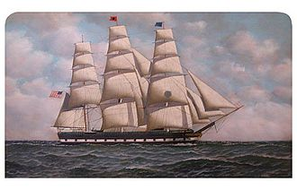 Black Ball Line (trans-Atlantic packet) - ''Charles H. Marshall''