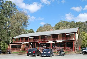 Narbethong, Victoria - Black Spur Inn at Narbethong