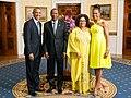 Blaise Compaoré with Obamas 2014.jpg
