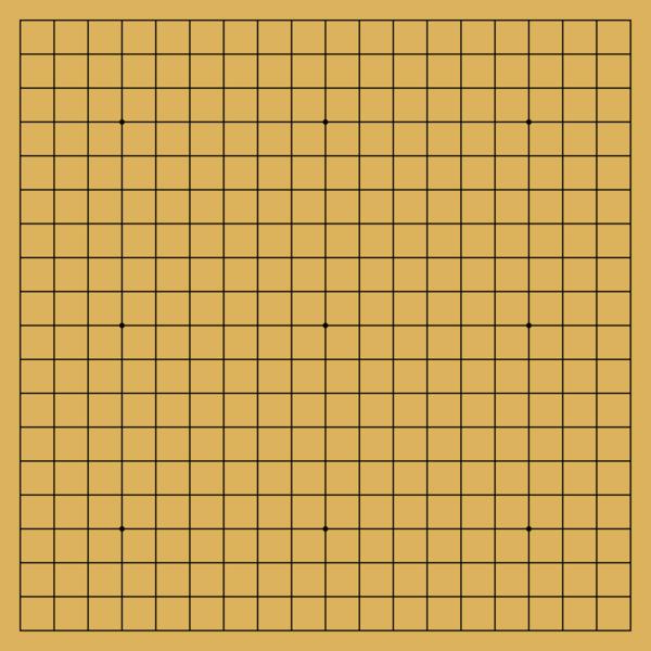 Go (Juego estratégico) 600px-Blank_Go_board