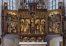 Blaubeuren Kloster Kirche Flügelaltar 02