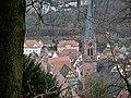 Blick auf Calw, u. a. auf die evangelische Stadtkirche Peter und Paul 1888 im neugotischen Stil wiederaufgebaut - panoramio.jpg