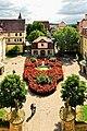 Blick aus dem Rokokosaal des Schlosses Kirchberg. 02.jpg