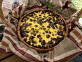 Blueberry tart made with sour cream and molasses.jpg
