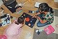 Board game on the floor at Grythengen farm.jpg