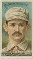 Bob Caruthers, Brooklyn Trolley-Dodgers, baseball card portrait LCCN2007680744.tif