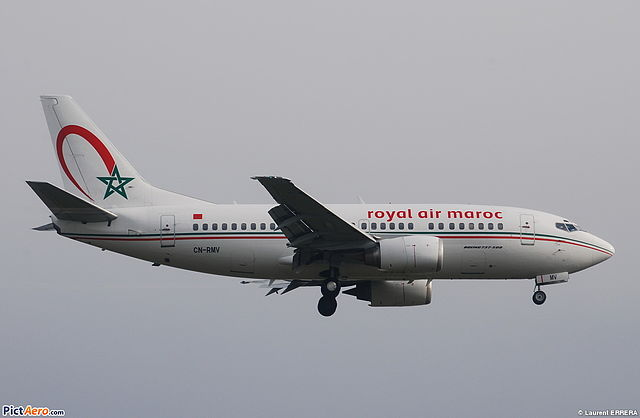 file boeing 737 500 royal air maroc ram cn rmv msn. Black Bedroom Furniture Sets. Home Design Ideas