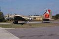 Boeing B-17G-85-DL Flying Fortress Nine-O-Nine Landing Taxi 43 CFatKAM 09Feb2011 (14797191060).jpg