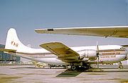 Boeing C-97G N227AR FAR LGB 13.10.73 edited-3