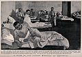 Boer War; wounded soldiers in a ward at the German hospital Wellcome V0015575.jpg