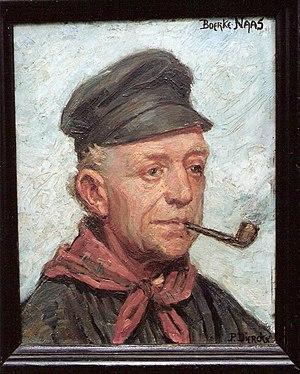schilderij van Pieter Dierckx naar een gedicht...