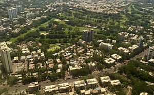 Chembur - Aerial view of the Bombay Presidency Golf Club