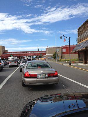 Sumas, Washington - Sumas border crossing