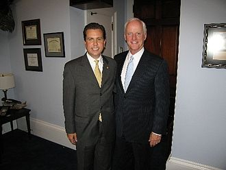 Dan Boren - Dan Boren with former governor Frank Keating