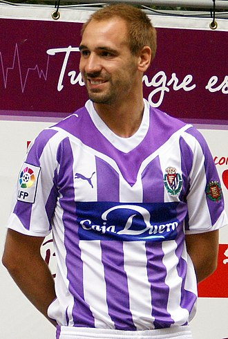 Borja Fernández (footballer, born 1981) - Borja as a Valladolid player in 2009