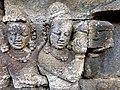 Borobudur - Divyavadana - 068 W, Gifts from King Bimbisara to King Rudrayana (detail 1) (11706362495).jpg