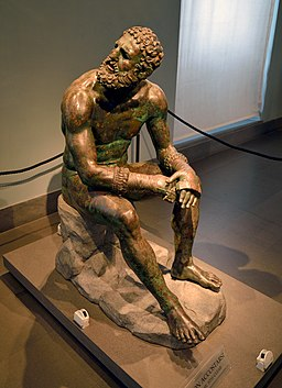 Boxer of Quirinal (Mys from Taranto) - Lateral View