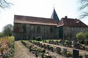 Bramsche - Bramsche Malgarten monastery